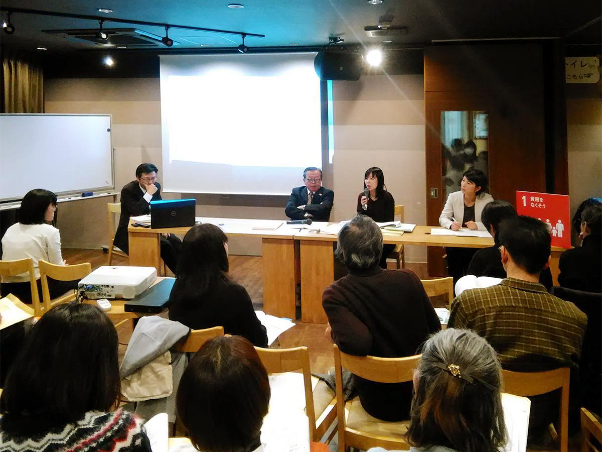 (左から)パネルディスカッションに登壇した佐藤さん、堀内さん、谷口さん、中嶋さん