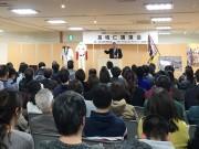 和歌山で智辯和歌山前監督・高嶋仁さん講演会 監督時代の思い出語る