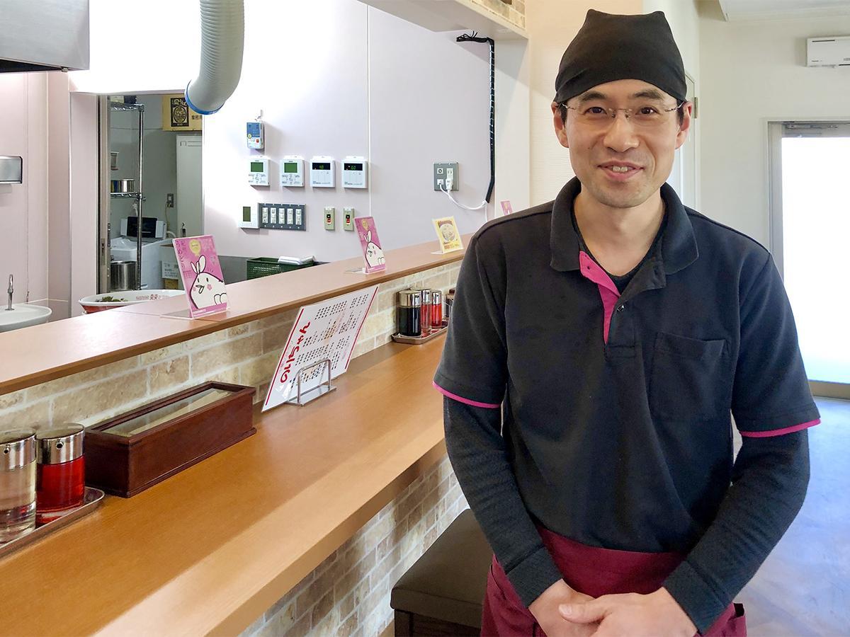 中華料理一筋20年以上の店主・荻野訓恒さん