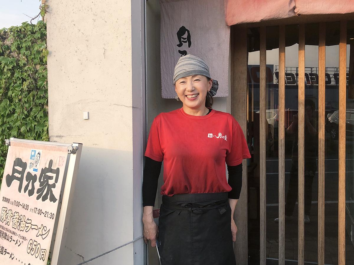 「麺dining 月乃家」オーナーの栗山さん