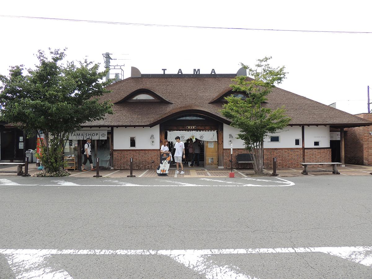 ネコの駅長がいる和歌山電鉄貴志川線の貴志駅