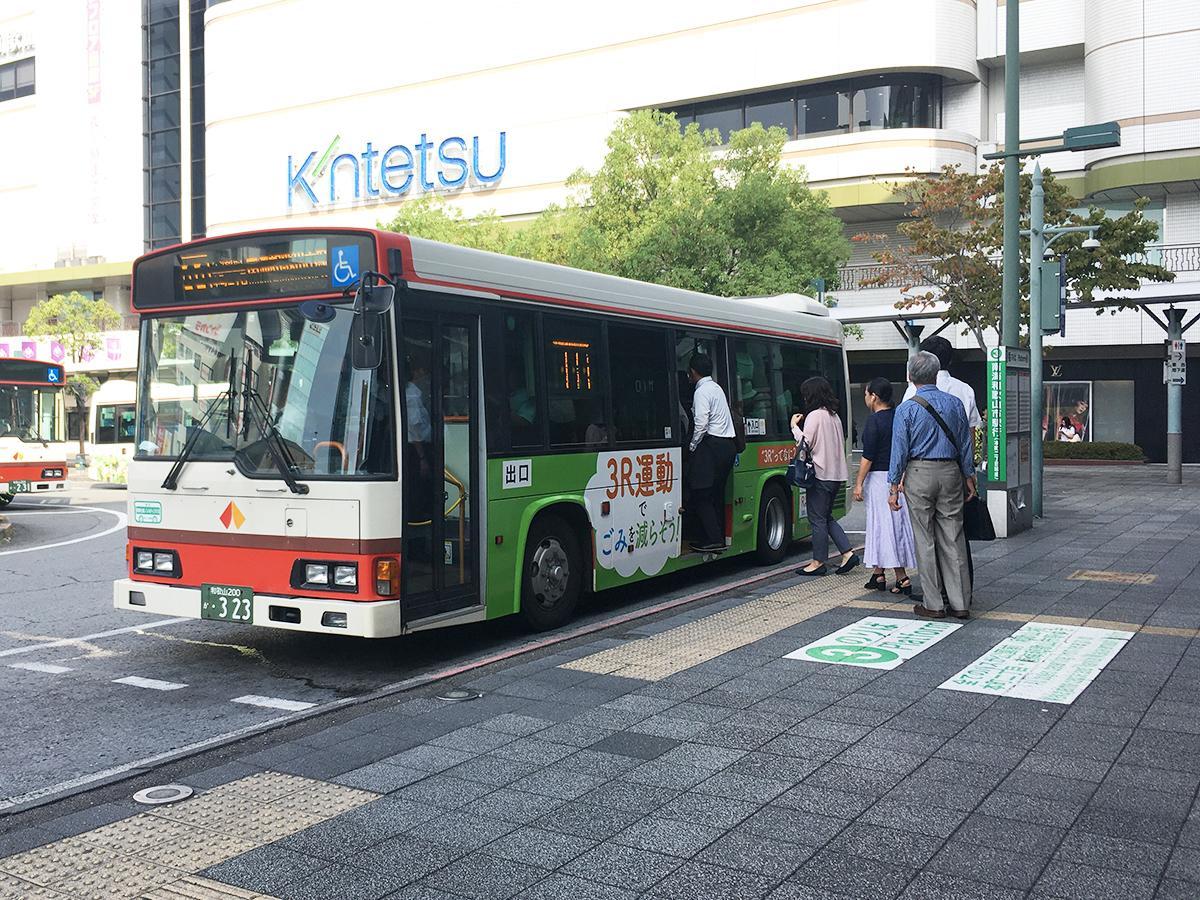 増税後も運賃据え置きの0系統バス