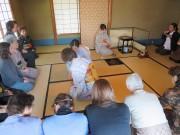 和歌山城近くで「和歌山城市民茶会」 表千家・裏千家が御点前披露