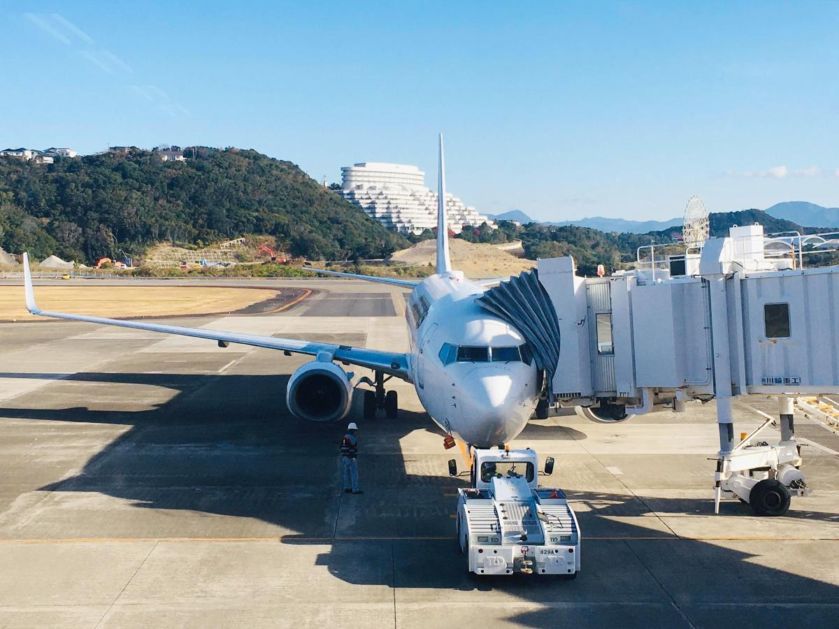 新たに就航したボーイングの旅客機
