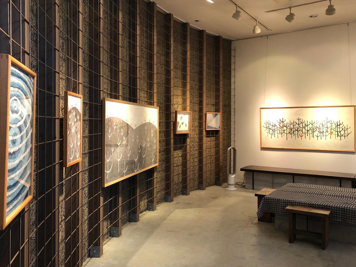 ヒロ画廊の展示風景