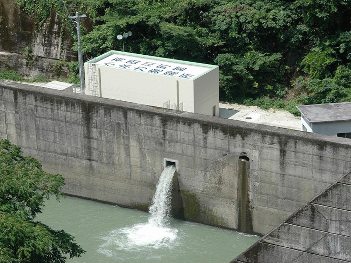 有田川町営二川小水力発電所