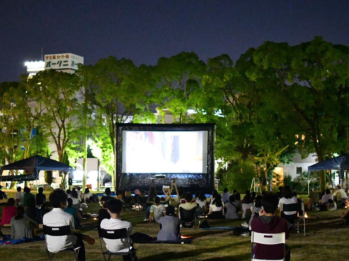 8月に開催された上映会の様子
