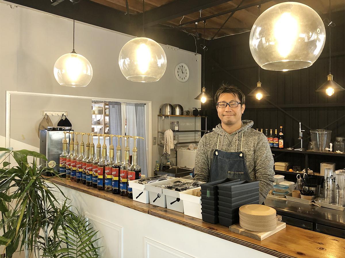 「BOAT CAFE マルタガーデン」店主の舟井孝志さん