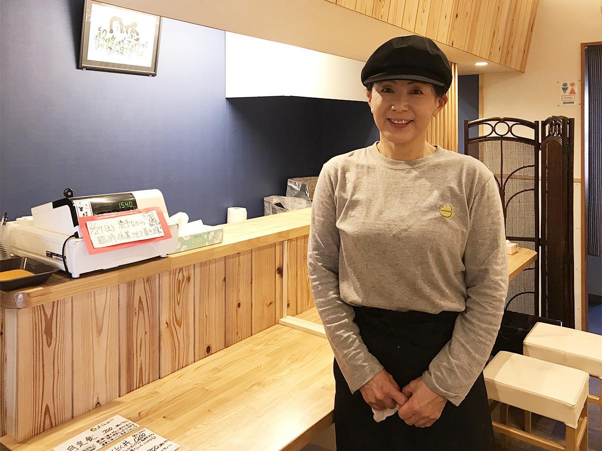 おだいどこ月乃家店主の栗山加奈子さん