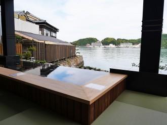 南紀勝浦温泉「湯快リゾート越之湯」がリニューアル 天然温泉や生マグロ提供も