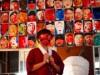 和歌山・サイダー工場跡で「佐藤すきま」さん個展 500枚の人物画ズラリ
