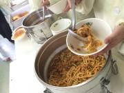 屋久島の小中学校でヤクシカ肉使った給食メニュー 「ボロネ―ゼ」で提供