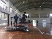 屋久島で広がるタグラグビーの輪 子どもや初心者向けの新スポーツ