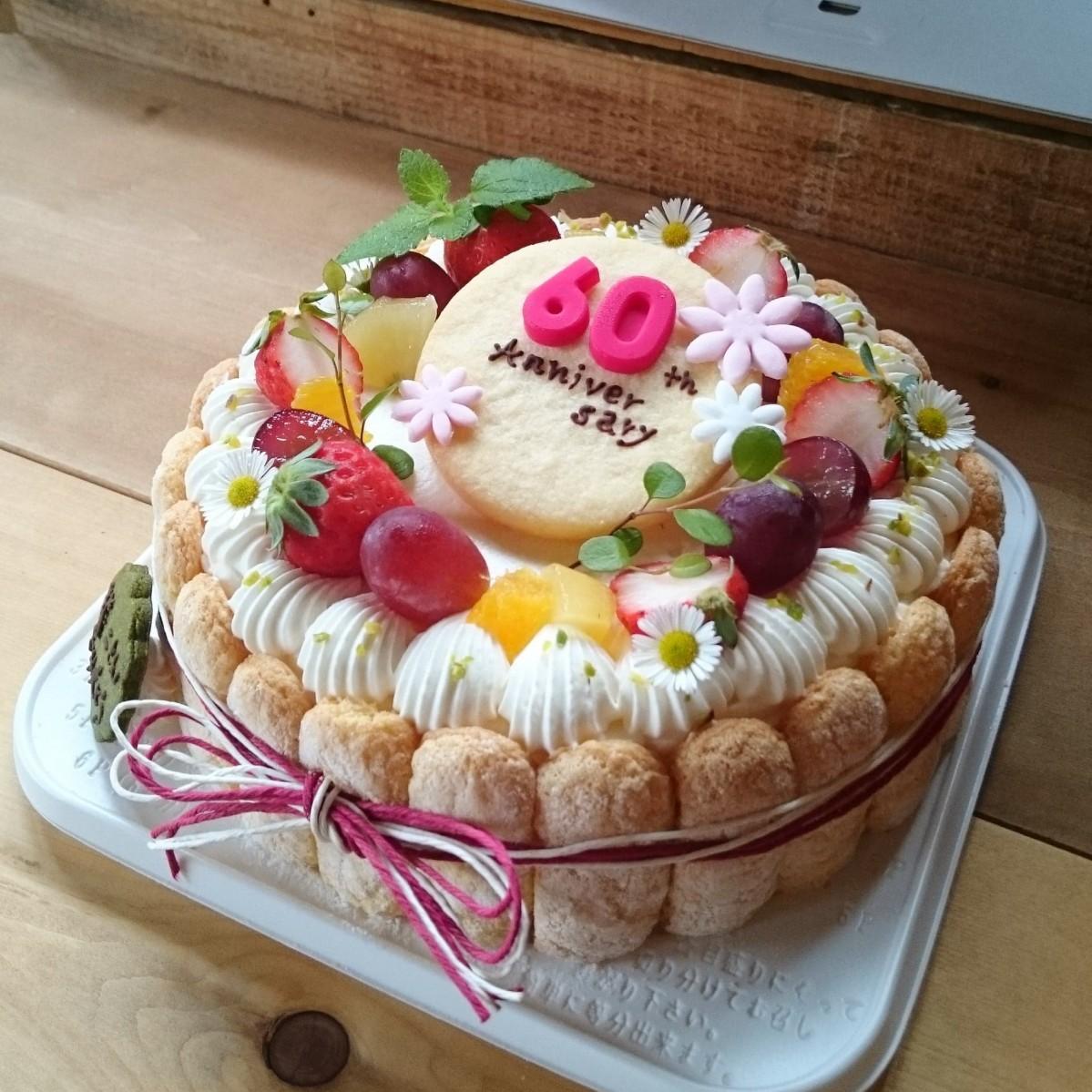 デコレーションケーキの一例