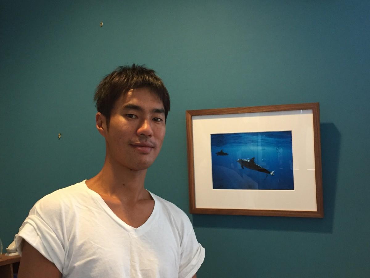 屋久島在住の水中写真家、高久至さん
