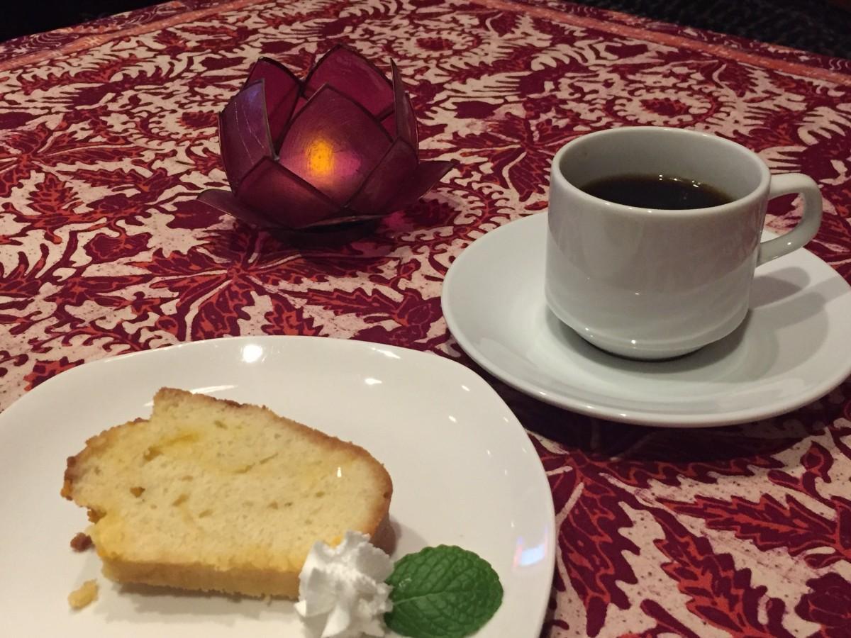 取材時のケーキは「永田産のたんかん」(600円)