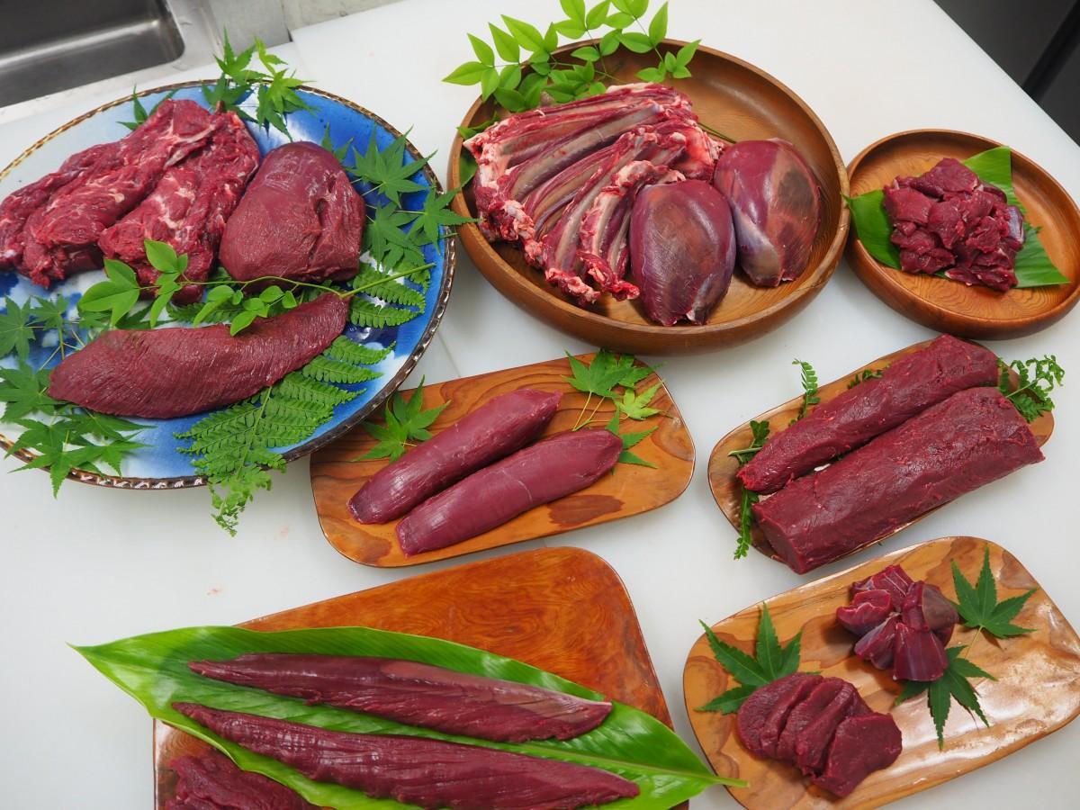 「高タンパク、低脂肪で鉄分が豊富」(櫻井さん)というシカ肉