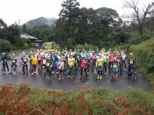 自転車レース「屋久島ヒルクライム2020」 標高差583メートルを駆け上がる