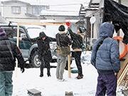 山形で永瀬正敏さん主演短編映画「LIFE」撮影 大学生とプロのスタッフが合同製作