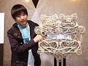 東北芸術工科大学の卒業制作「書き時計」が話題に ネット上で称賛の声