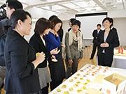 「やまがたおみやげ菓子プロジェクト」成果品発表会 県内4社が新しい山形土産披露