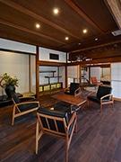 赤湯温泉「瀧波」がリニューアル 山形の魅力凝縮、「ショールームのような空間に」
