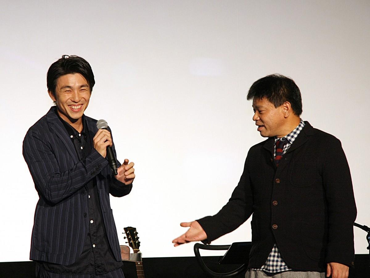 中尾明慶さんとジミー大西さん