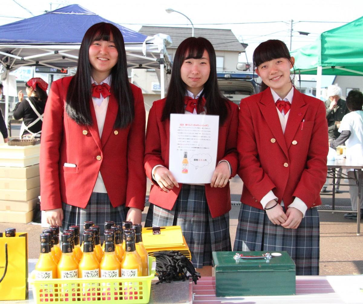 山形県立米沢商業高等学校による出店