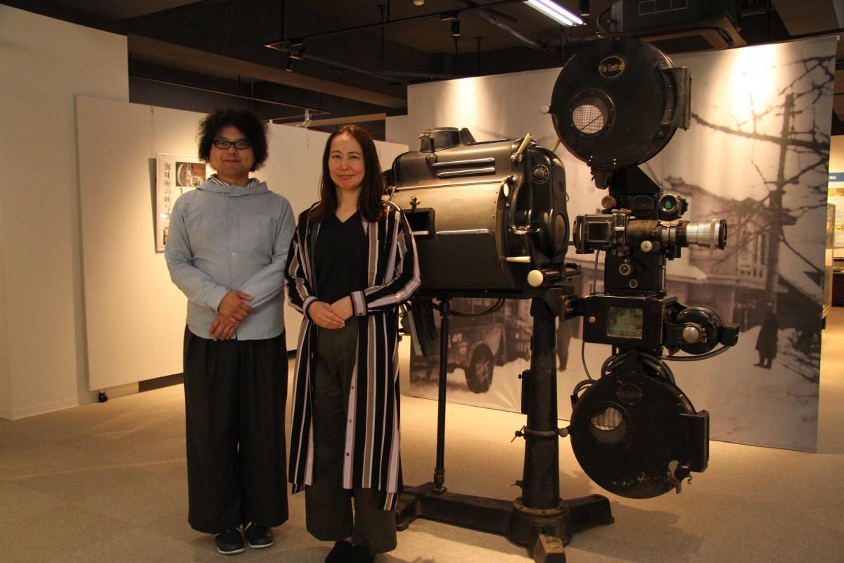 認定NPO法人 山形国際ドキュメンタリー映画祭の成田雄太さんと山形大学の佐藤琴准教授