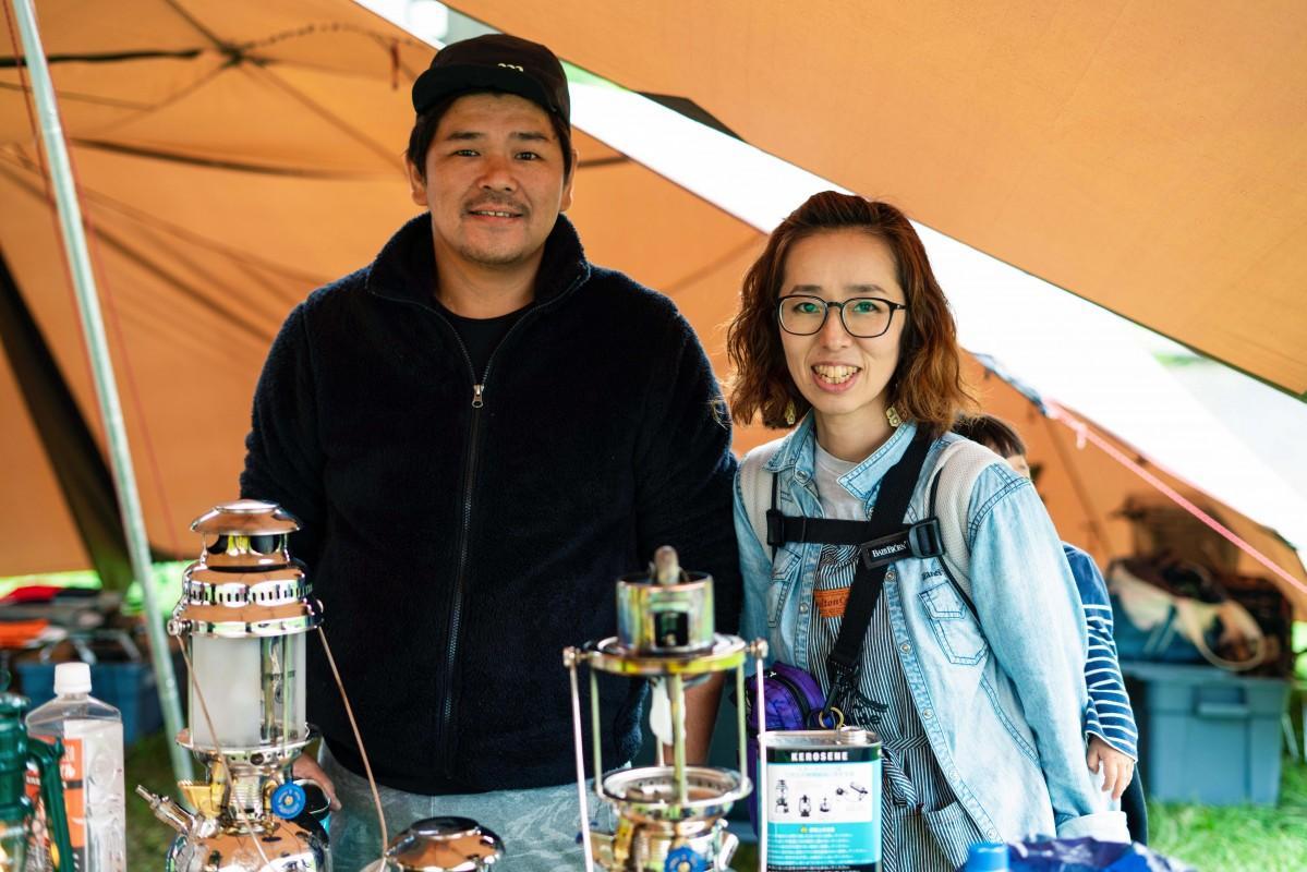 HJS camp lab.の長橋夫妻