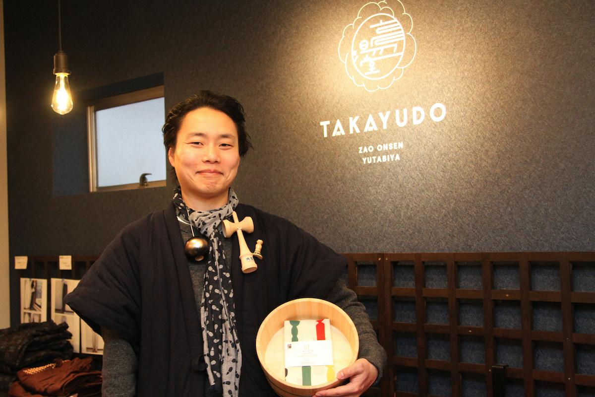 「Zao Onsen 湯旅屋 高湯堂」をオープンした竹直也社長