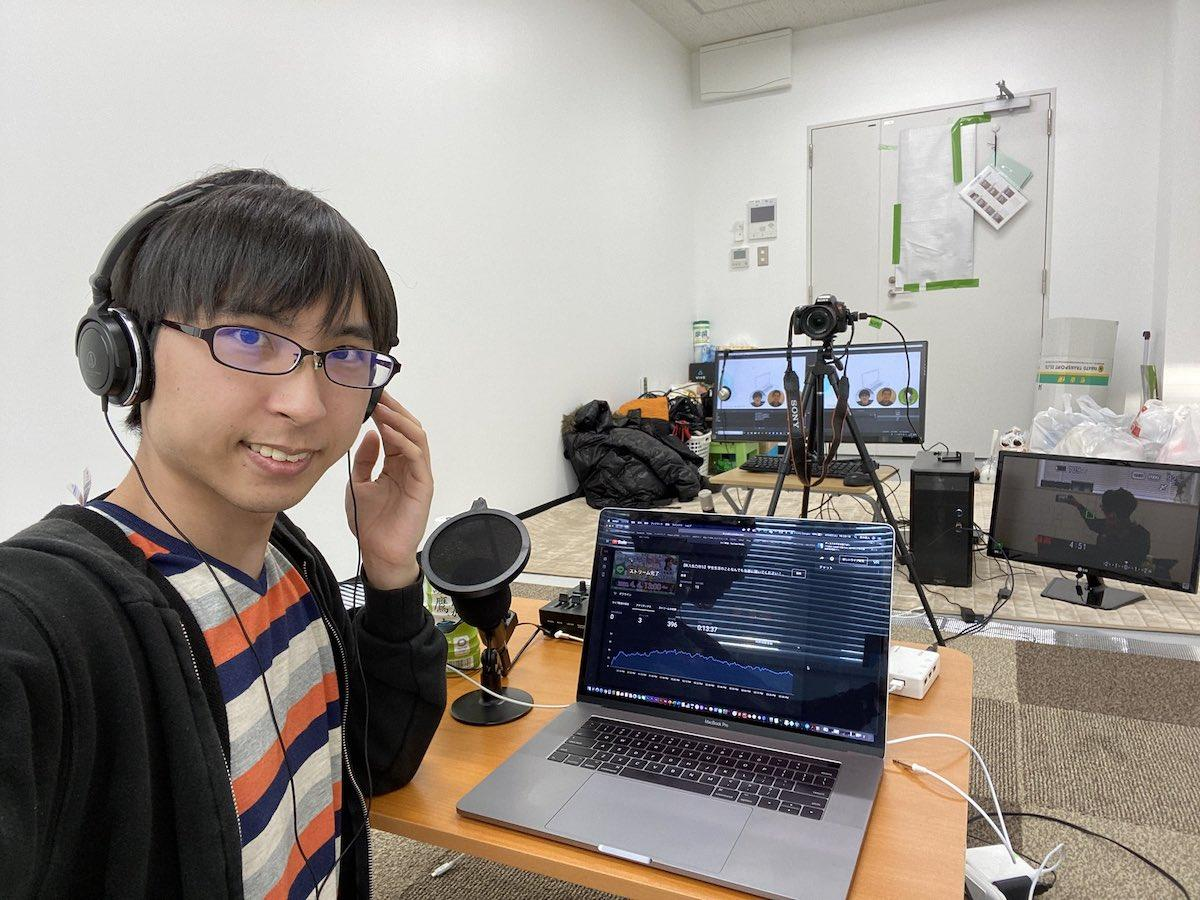 「山形大学WEB新歓」を企画した高木直人さん(写真提供=高木直人さん)