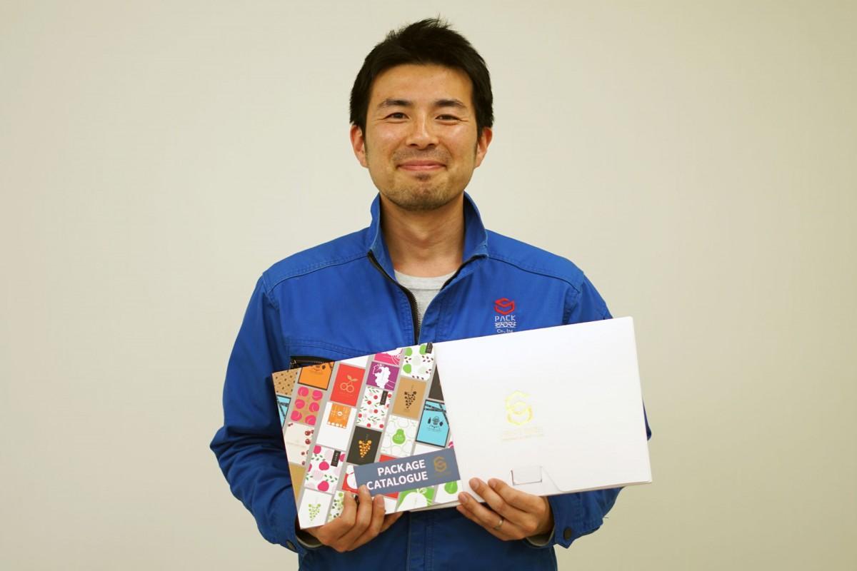 エスパック常務の佐藤健太郎さん