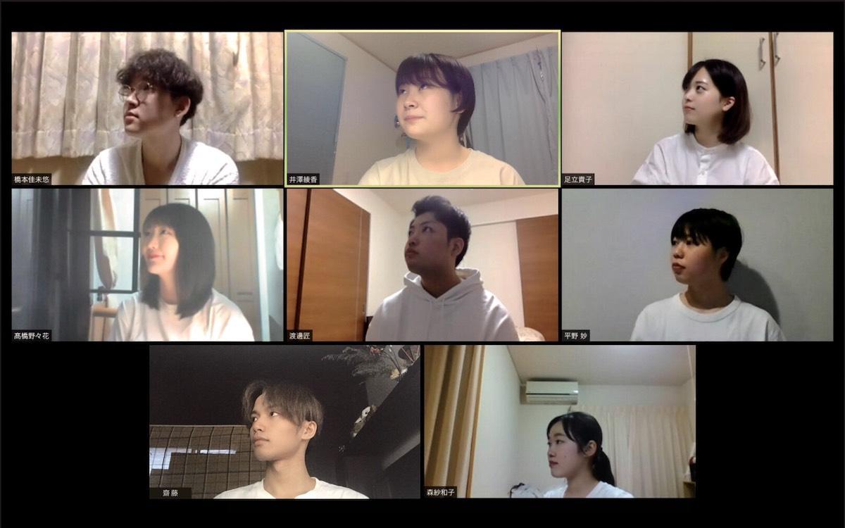 東北芸術工科大学企画構想学科 片岡英彦ゼミのメンバー