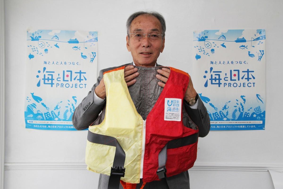 ドリームやまがた里山プロジェクト事務局長の高橋雅宣さん