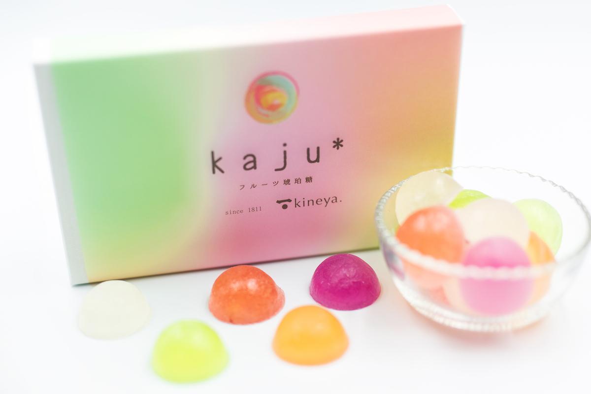 フルーツ琥珀糖「kaju*」