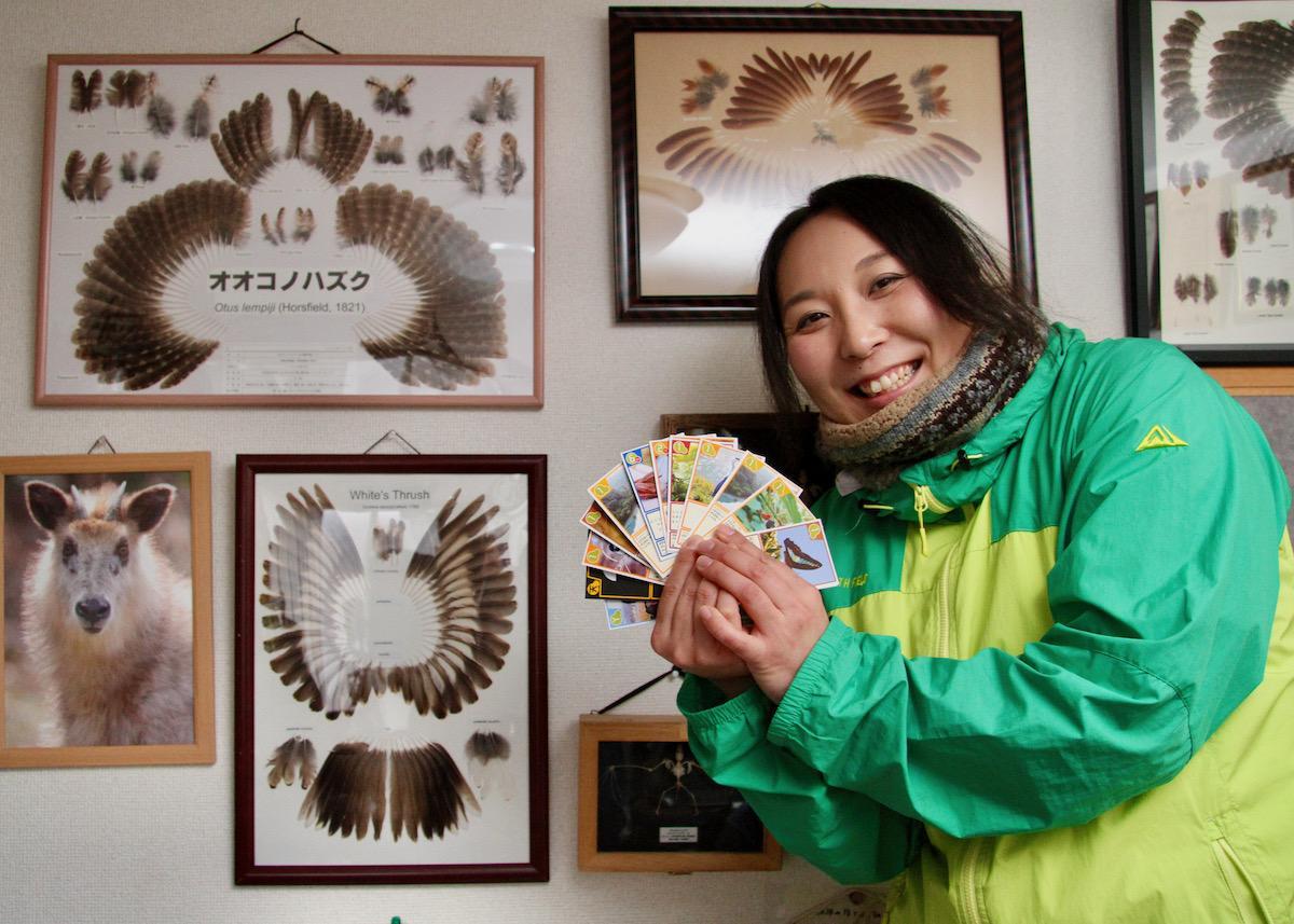 「やまがたヤマネ研究会」代表の中村夢奈さん