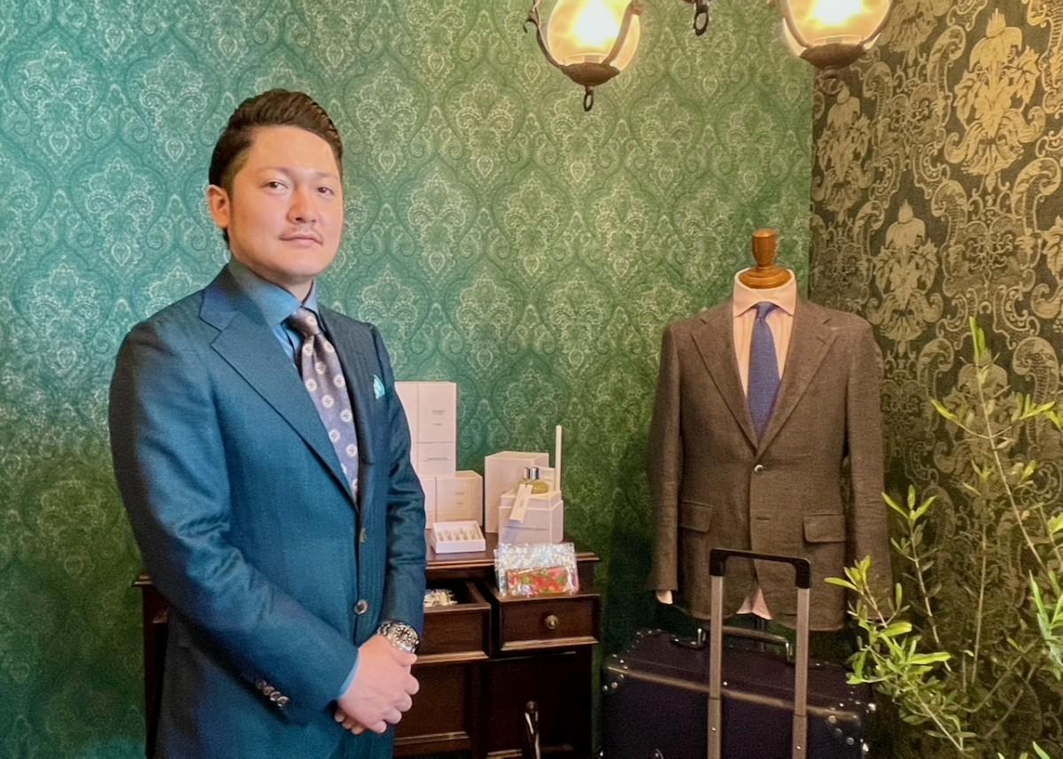 「TAILOR URAYAMA & BELLO」の浦山高代表