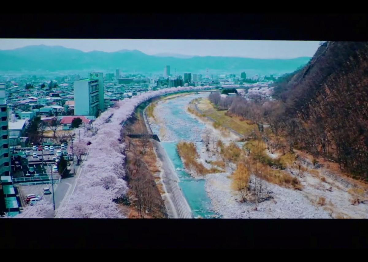 10月7日に配信された開会式のオープニングムービー(山形国際ドキュメンタリー映画祭2021開会式公式動画より)