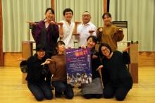 山形・演劇ユニット「弍十壱鶴堂」が公演 オカマバー舞台のコメディー