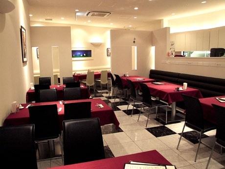 シックで落ち着いた雰囲気のイタリアンレストラン