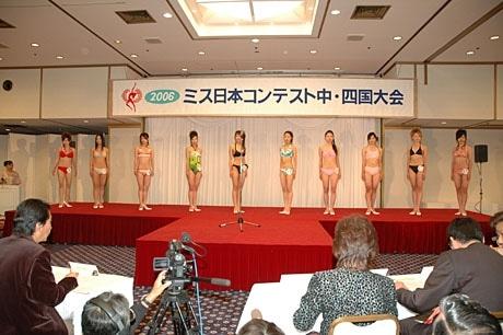 ミス日本コンテスト中国・四国大会(写真=昨年の様子)