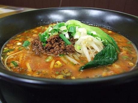 「麺屋遊膳」の担々麺