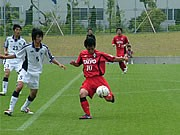 FC宇部ヤーマンのホームゲームで行われる山口ダービー