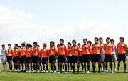 新チーム体制発表会を開いた「レノファ山口FC」