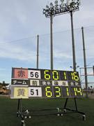 総得点230点、山陽小野田の「26時間サッカー」試合終了