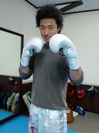 宇部初となる本格キックボクシングジムの柳井裕次代表