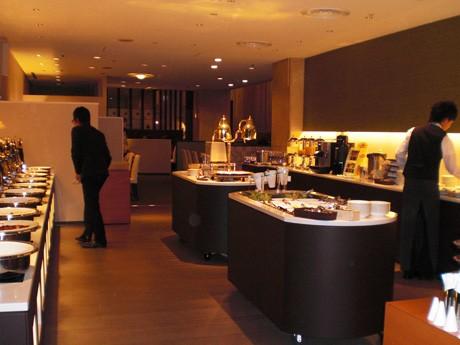 リニューアルオープンしたレストラン「サルビア」
