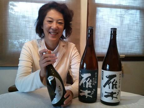 「女性のための日本酒講習」を主催する藤田多嘉子さん