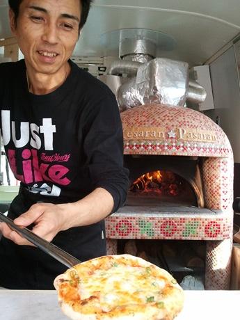 移動ピッツェリア「ケサランパサラン」オーナーの堀義男さん